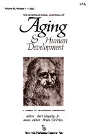 The International Journal of Aging & Human Development
