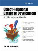 Object relational Database Development