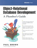 Object relational Database Development