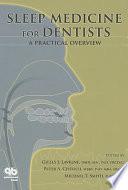 Sleep Medicine for Dentists