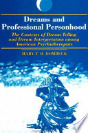 Dreams And Professional Personhood PDF