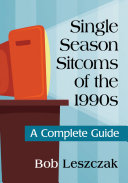 Single Season Sitcoms of the 1990s Pdf/ePub eBook