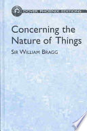 Concerning The Nature Of Things