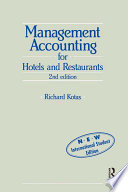 """""""Management Accounting for Hotels and Restaurants"""" by Richard Kotas"""
