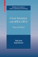 Pdf Circuit Simulation with SPICE OPUS