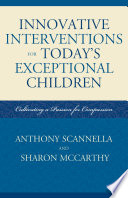 Innovative Interventions for Today's Exceptional Children