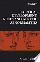 Cortical Development Book PDF