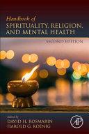 Handbook Of Spirituality Religion And Mental Health Book PDF