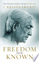 Freedom from the Known Book PDF