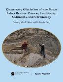 Quaternary Glaciation of the Great Lakes Region Pdf/ePub eBook