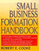 Small Business Formation Handbook
