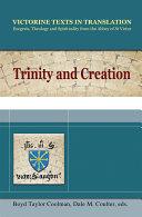 Trinity and Creation ebook