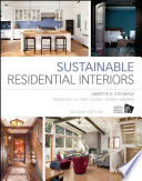 Sustainable Residential Interiors Book