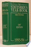 The Statesman s Year Book 1993 94