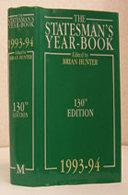 The Statesman's Year-Book 1993-94