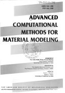 Advanced Computational Methods For Material Modeling Book PDF
