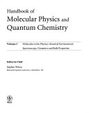 Handbook of Molecular Physics and Quantum Chemistry  3 Volume Set Book
