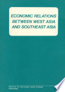 Economic Relations Between West Asia And Southeast Asia Book PDF