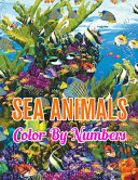 Sea Animals Color By Numbers Book