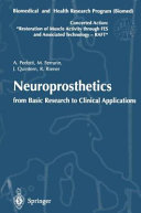 Neuroprosthetics  from Basic Research to Clinical Applications Book
