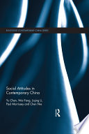 Social Attitudes In Contemporary China