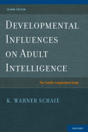 Developmental Influences on Adult Intelligence [Pdf/ePub] eBook