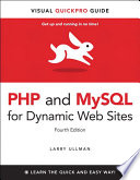 PHP and MySQL for Dynamic Web Sites  Fourth Edition Book