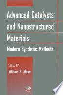 Advanced Catalysts and Nanostructured Materials Book