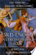 3rd Enoch  Astronomical Book