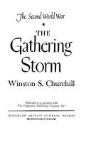 The Second World War The Gathering Storm