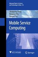 Mobile Service Computing Book
