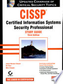 Cissp Study Guide (3Rd Ed.) W/Cd
