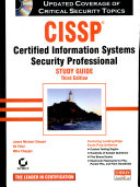 Cissp Study Guide 3rd Ed W Cd Book PDF