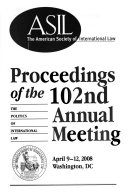 Proceedings of the ... Annual Meeting