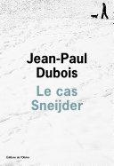 Pdf Le cas Sneijder Telecharger