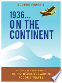 1936  ON THE CONTINENT