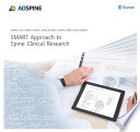 SMART Approach to Spine Clinical Research