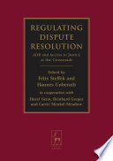 Regulating Dispute Resolution