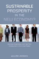 Sustainable Prosperity in the New Economy? [Pdf/ePub] eBook