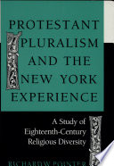 Protestant Pluralism and the New York Experience