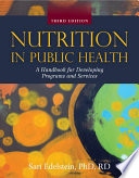 Nutrition in Public Health Book