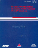 Standard Calculation Methods For Structural Fire Protection Book PDF