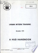 Urban Intern Training