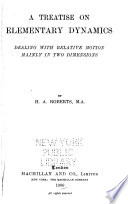 A Treatise on Chemistry Dynamics