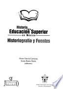 Historia de la educación superior en México