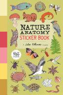 Nature Anatomy Sticker Book Book