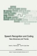 Speech Recognition and Coding [Pdf/ePub] eBook