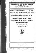 Bulletin Of The United States Bureau Of Labor Statistics No 536 1930