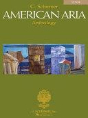 G  Schirmer American Aria Anthology