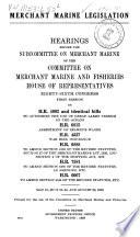 Merchant Marine Legislation
